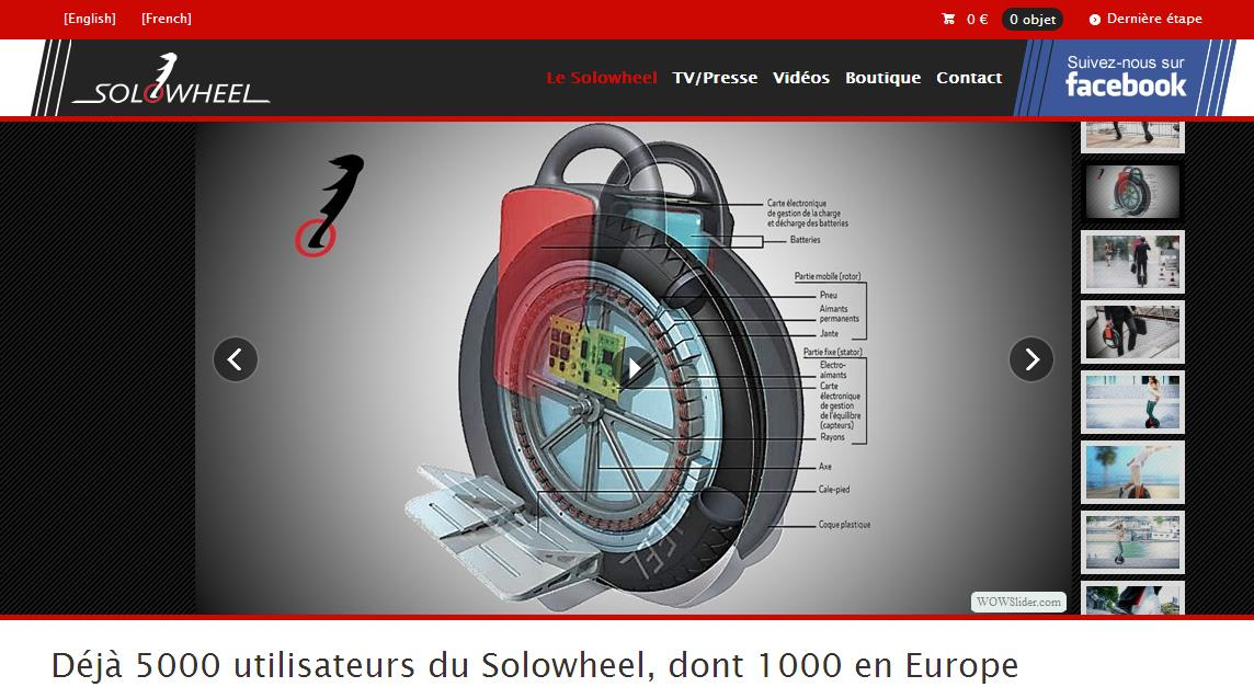 Page solowheel